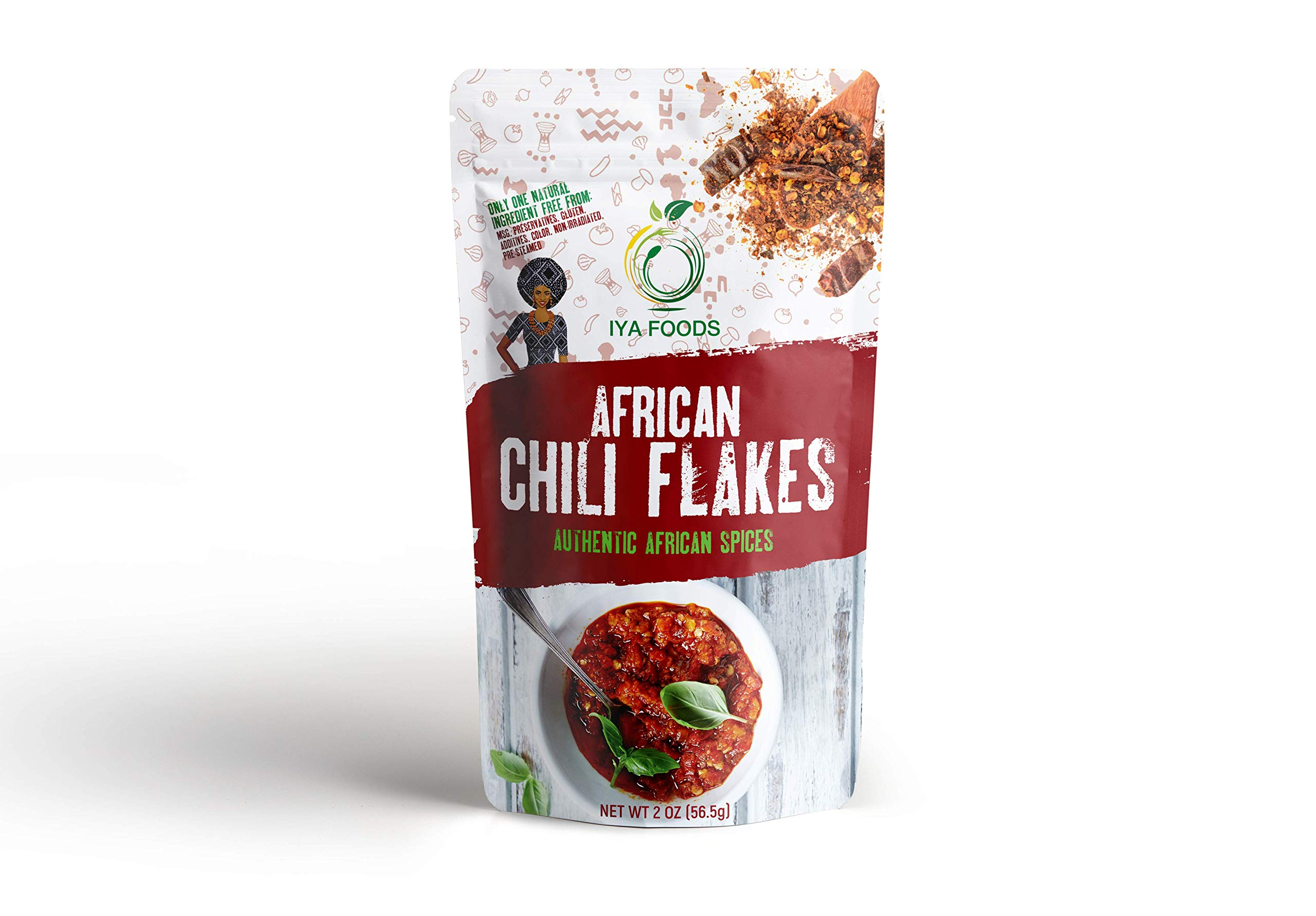 African Chili Pepper - Flakes (2 oz)