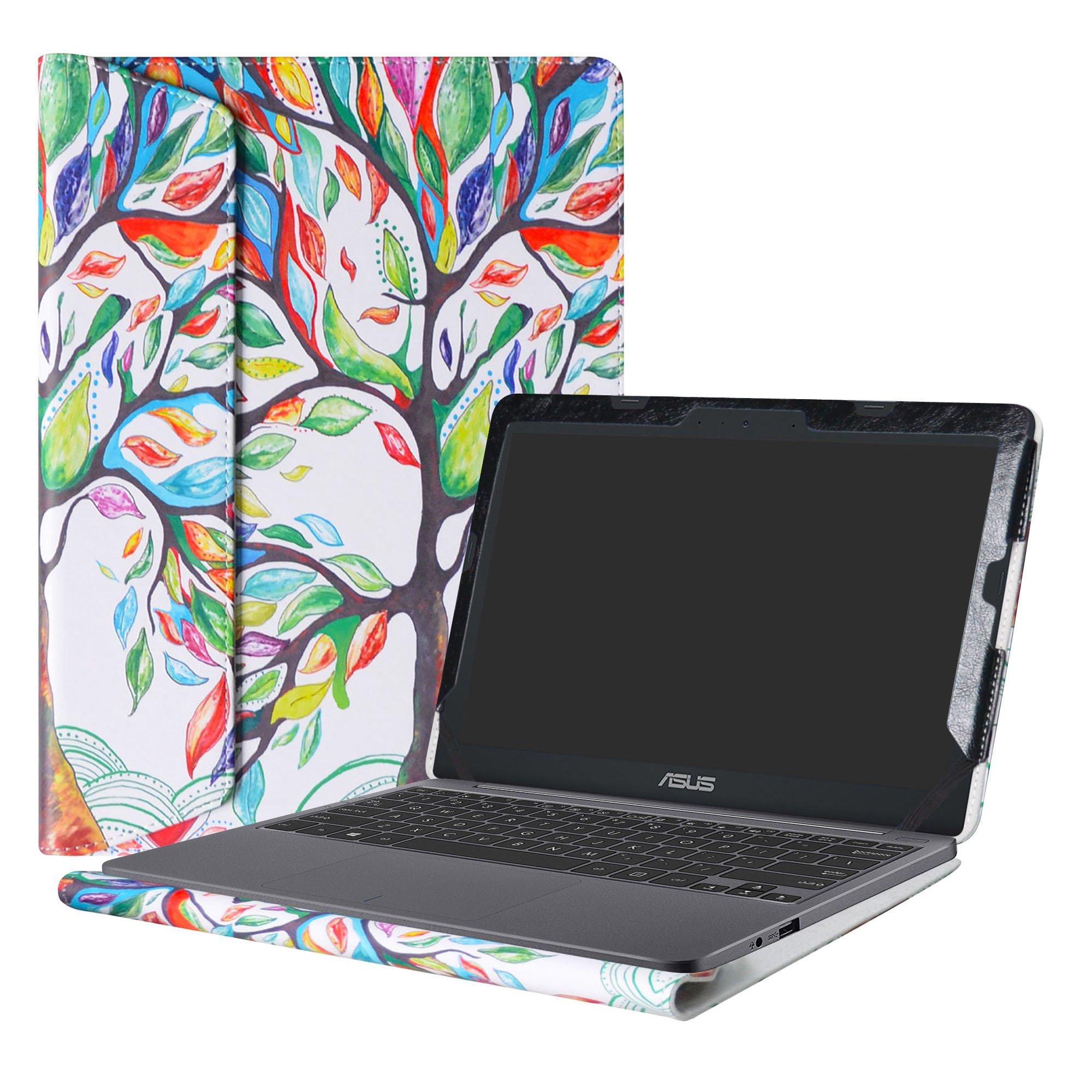 Alapmk Protective Case Cover For 11.6'' ASUS VivoBook E203NA E200HA L200HA/Chromebook C201 C201PA Series Laptop(Warning:Only fit model E203NA E200HA L200HA C201PA),Love Tree