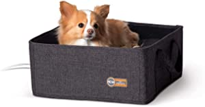 K&H Pet Products Thermo-Basket Indoor Heated Cat Bed, Foldable, 15in x 15in, 4W