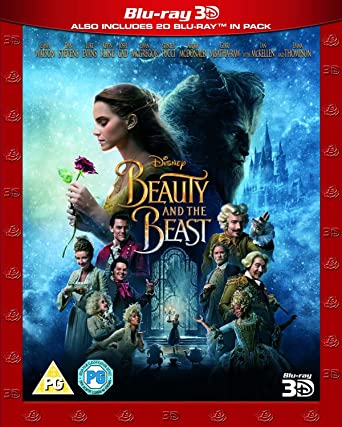 Beauty And The Beast Live Action Blu Ray 3D