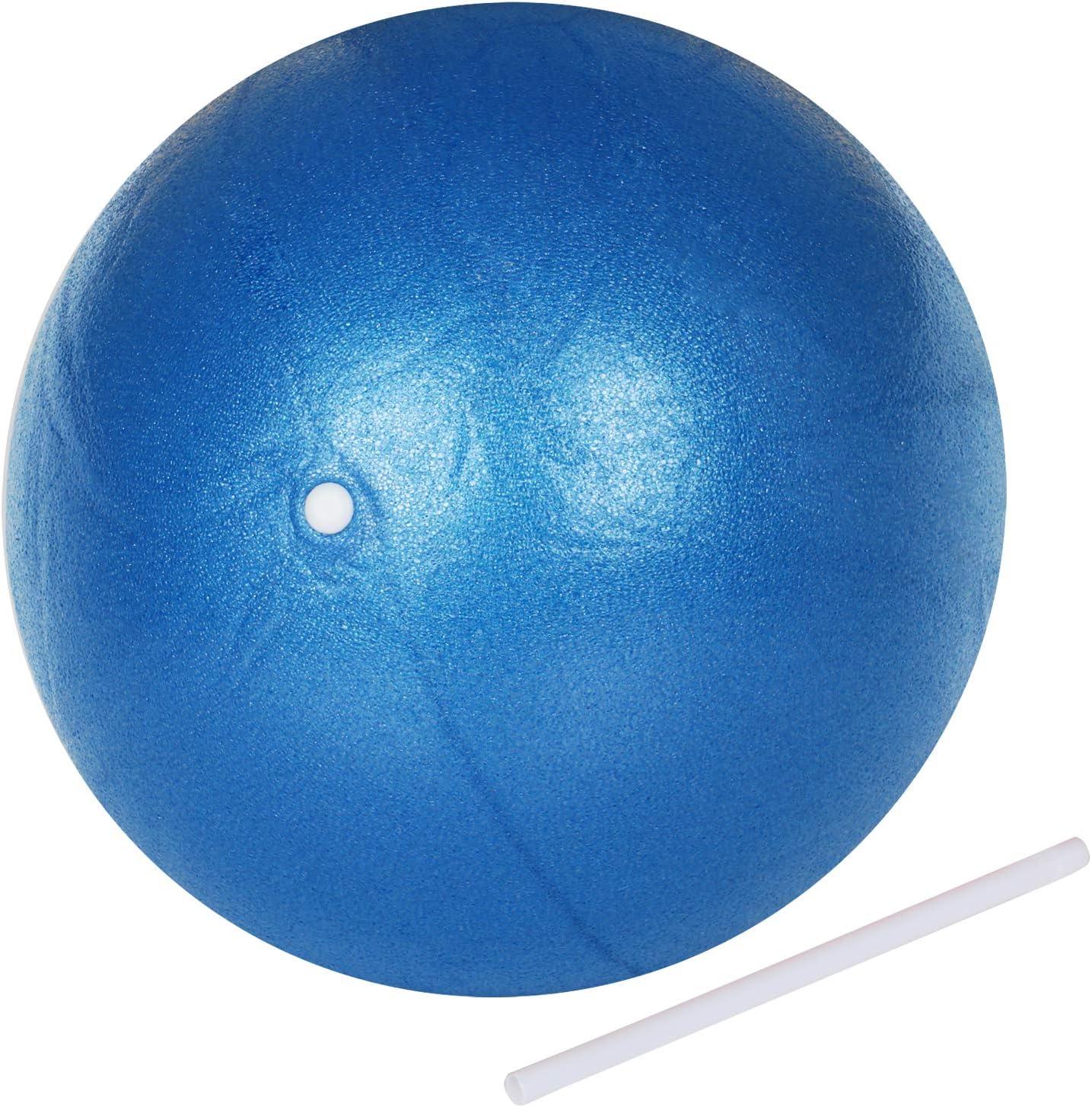 TRIXES Balón Espuma PVC Azul Ayuda para Ejercicios de ...