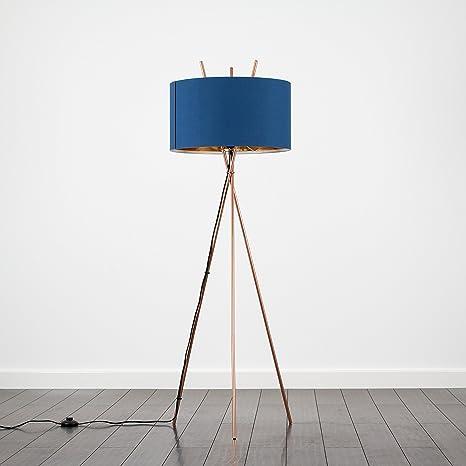 MiniSun - Lámpara de pie de trípode con diseño moderno ...
