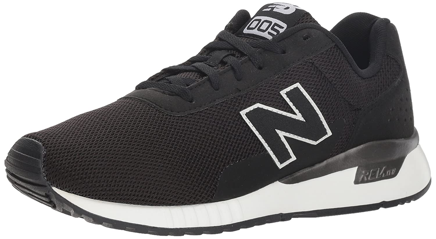 New Balance Women's 5v2 Sneaker B075R7N6BF 7.5 B(M) US|Black