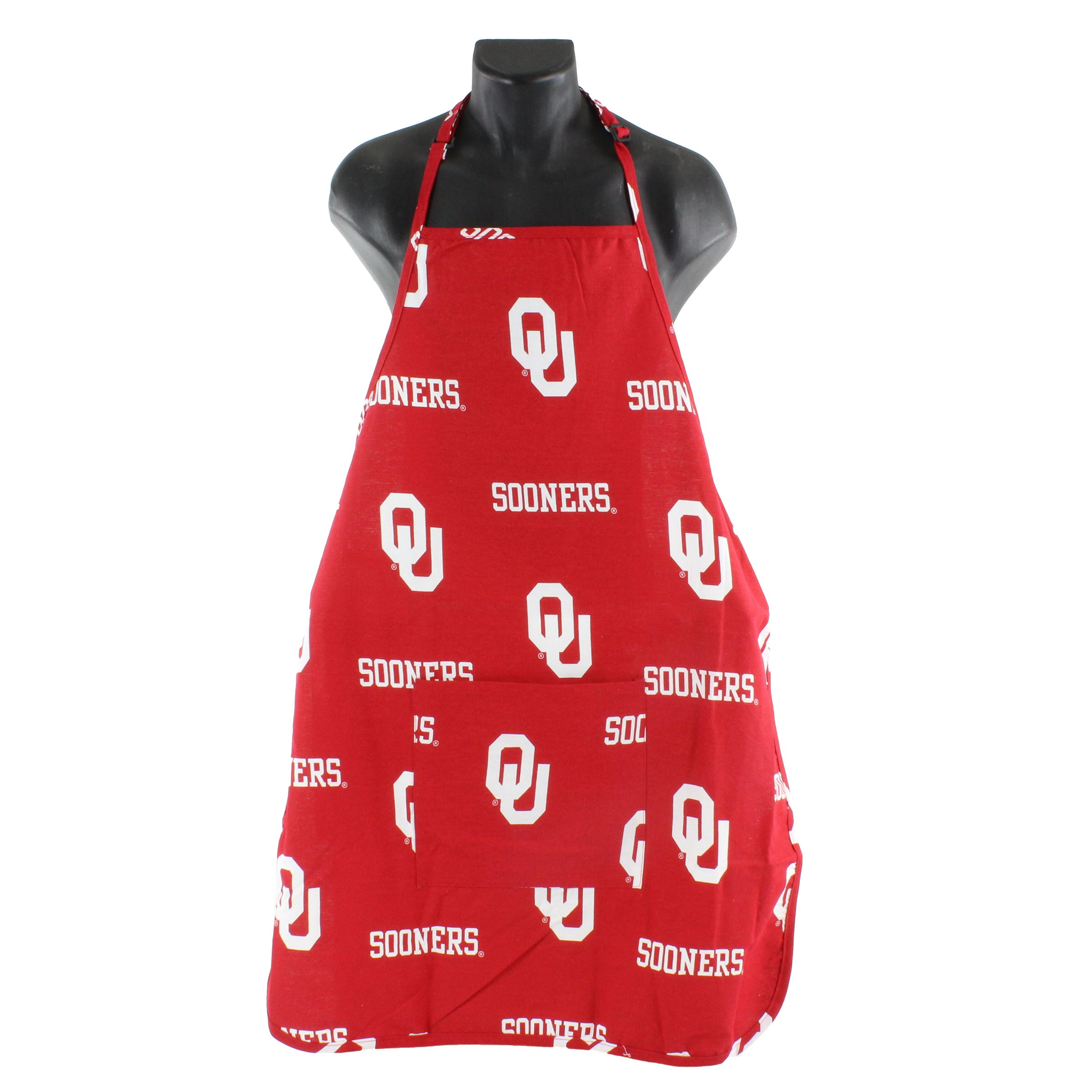 College Covers Oklahoma Sooners Apron with Pocket
