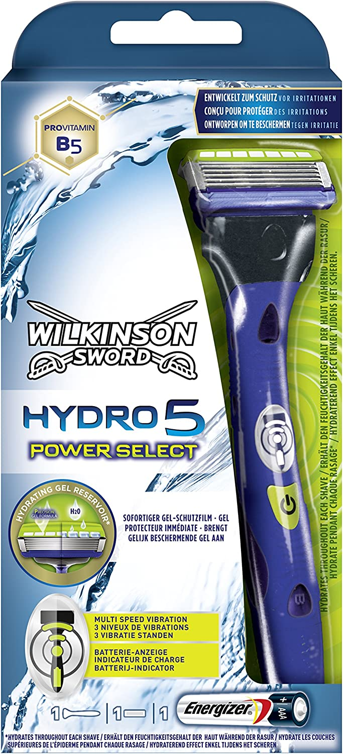 Cuchilla de afeitar Wilkinson Sword Hydro Power Select.: Amazon.es: Salud y cuidado personal