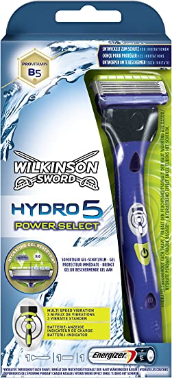 Cuchilla de afeitar Wilkinson Sword Hydro Power Select.: Amazon.es ...
