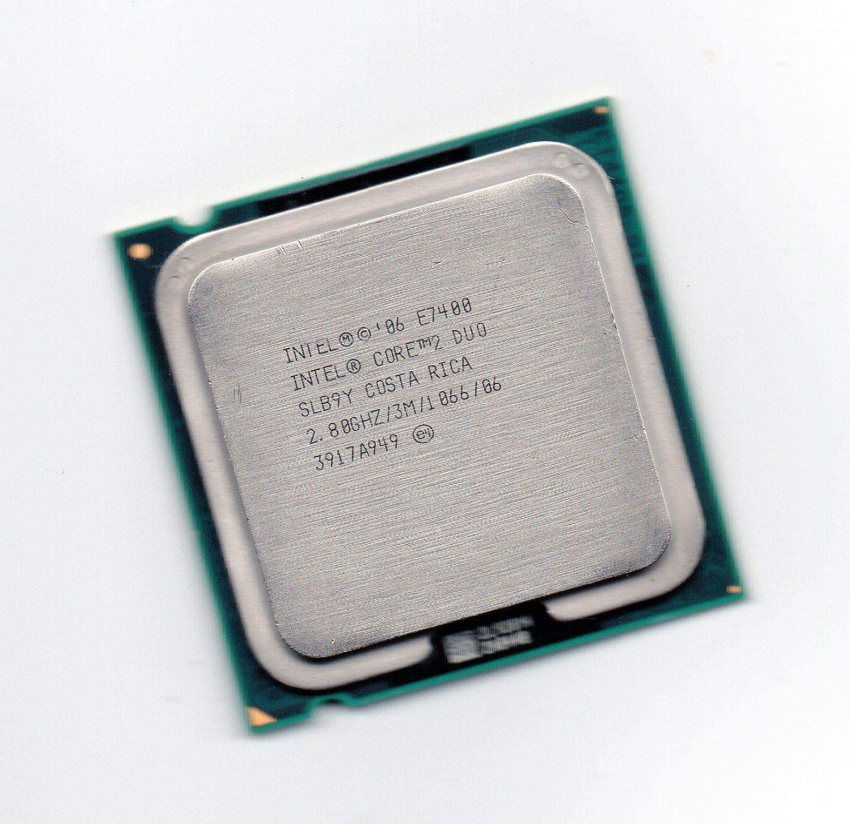 Intel Core 2 Duo Processor E7400 2.8GHz 1066MHz 3MB LGA775 CPU OEM