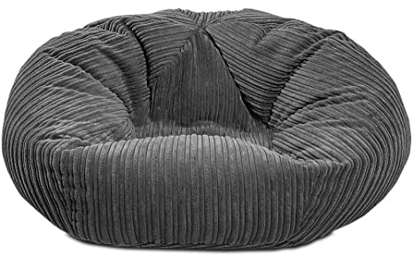 Remarkable Gilda Monster Adult Beanbag Massive Big Classic Soft Comfy Jumbo Corduroy Bean Chair Filled With Virgin Beans Beautiful Bed Living Room Accessory Frankydiablos Diy Chair Ideas Frankydiabloscom