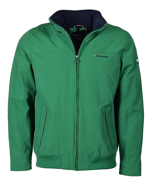Tommy Hilfiger - Chaqueta - para Hombre Verde Verde XL ...