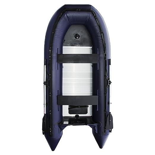 Aleko 13,8 pie Azul Barco Inflable con Suelo de Aluminio ...