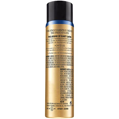 Amazon.com : LOréal Paris Elnett Satin Extra Strong Hold Hairspray, Travel size, 6 count (Packaging May Vary) : Beauty