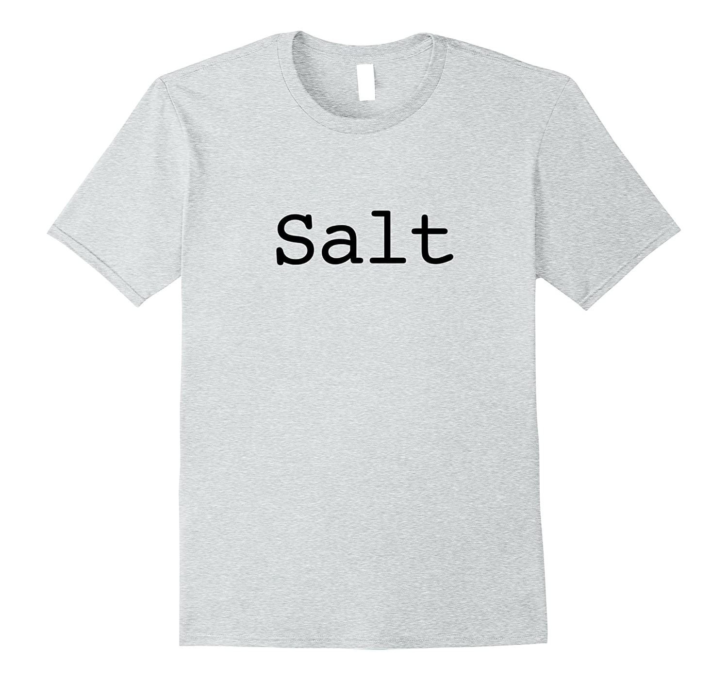 Salt T-Shirt for Halloween Salt and Pepper Costume-FL