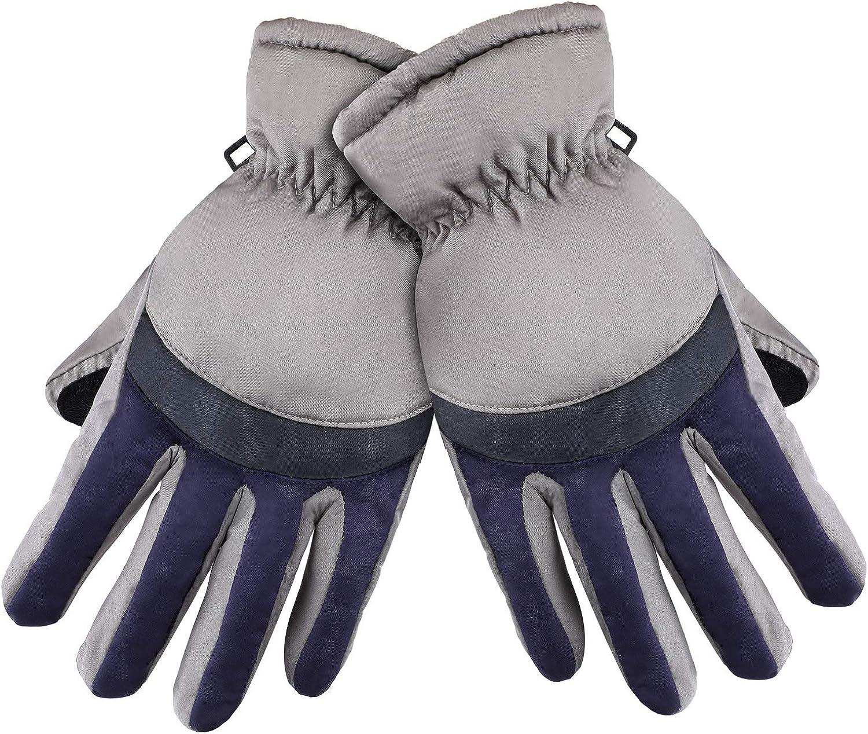 Women Ski Gloves Winter...