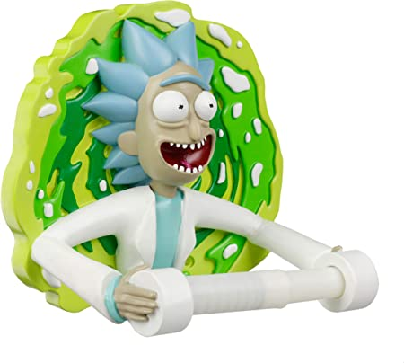 Rick and Morty Multicolore 36 x 8 x 40 cm Coussin Rick Brod/é en Polyester