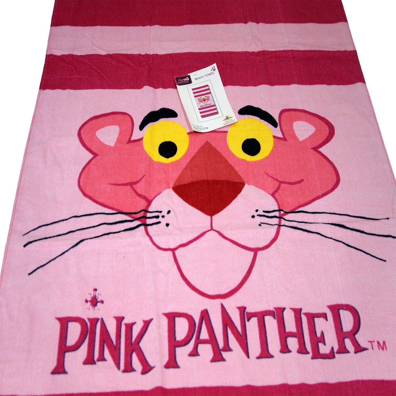 Biotin Kid s niños niñas regalo - personalizada de playa Baño Toalla de piscina - Pantera rosa: Amazon.es: Hogar