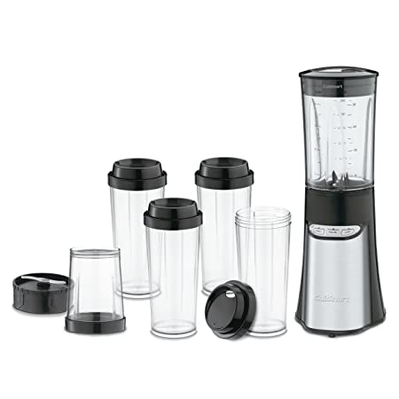 Cuisinart CPB-300 SmartPower 15-Piece Compact Portable Blending/Chopping System, Black Hand Blenders at amazon