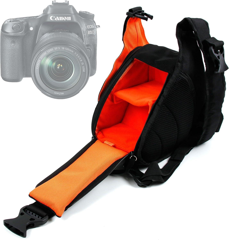 DURAGADGET Bolso Cruzado para Cámara Canon EOS 1300D / Rebel T6 + ...