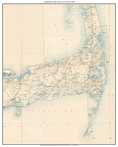 Chatham Cape Cod Map on