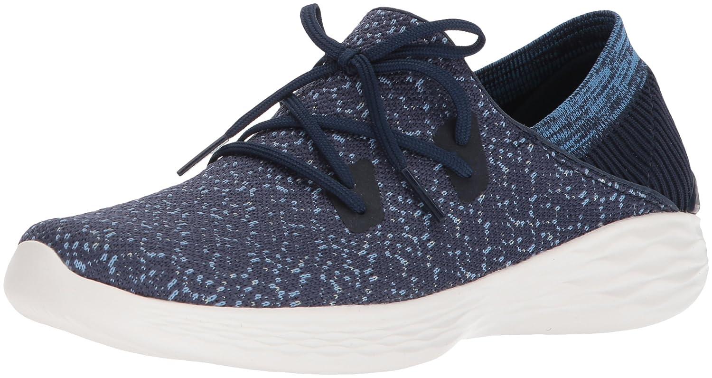 Skechers You Exhale Sneakers in Uuml;bergrouml;szlig;en Blau 14964/NVY Groszlig;e Damenschuhe  40 EU