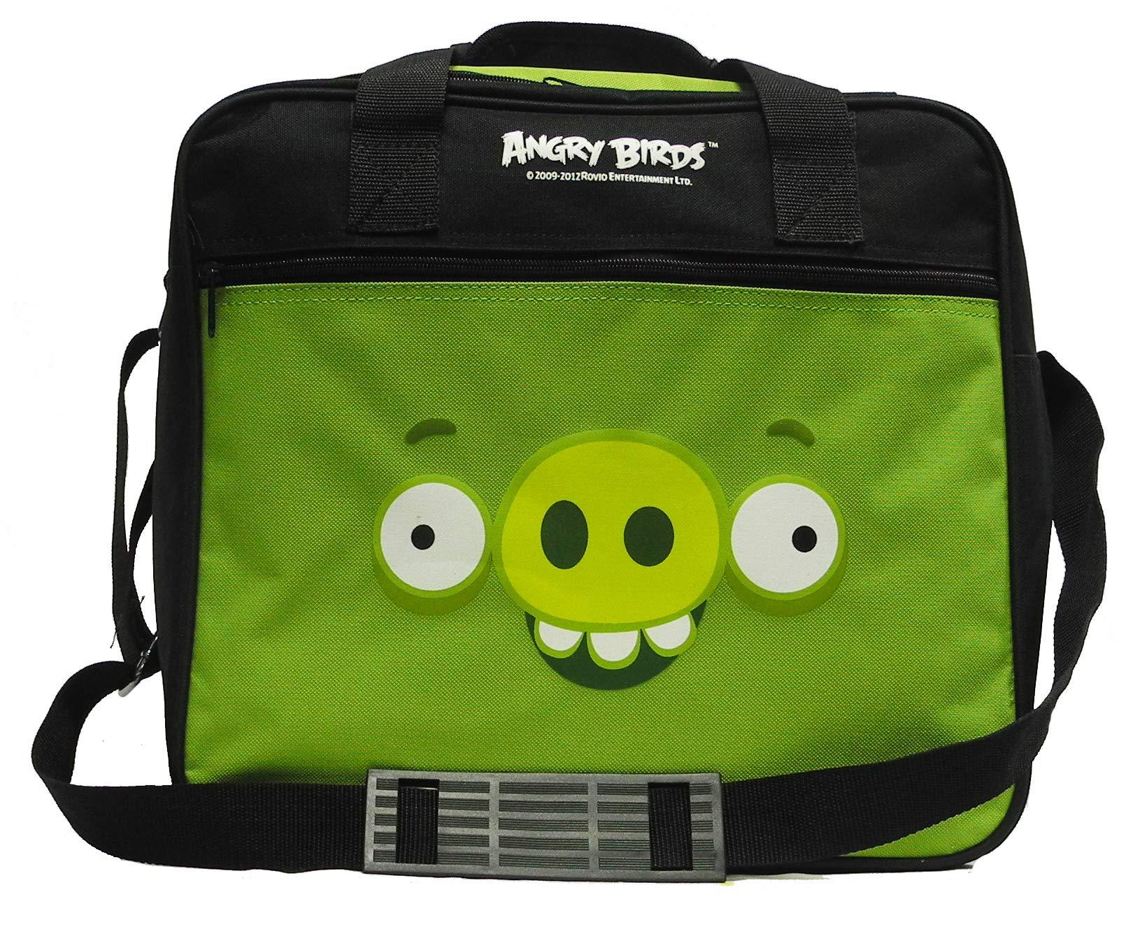 Ebonite Angry Birds Single Ball Deluxe Bowling Bag (Green Minion Pig) by Ebonite
