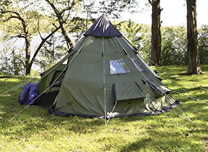 quality design 316c2 07a9f Amazon.com : GUIDE GEAR 10X10 TEPEE TENT : Sports & Outdoors