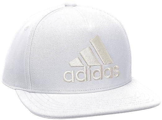 9788e51a57d adidas Mens Linear Flatpeak Cap  Amazon.co.uk  Sports   Outdoors