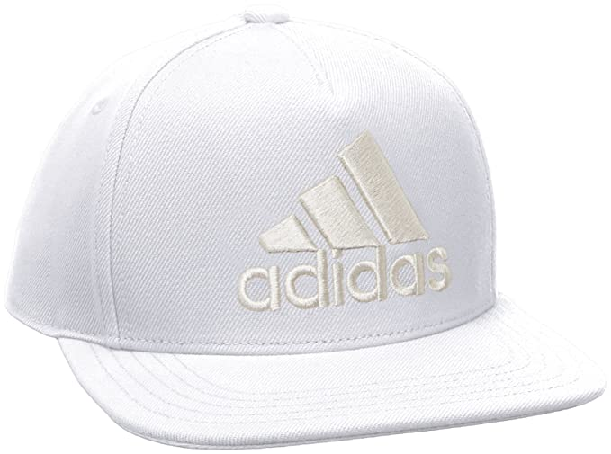 c441da4eed7b5 Image Unavailable. Image not available for. Colour  Adidas Unisex White H90  Logo Cap