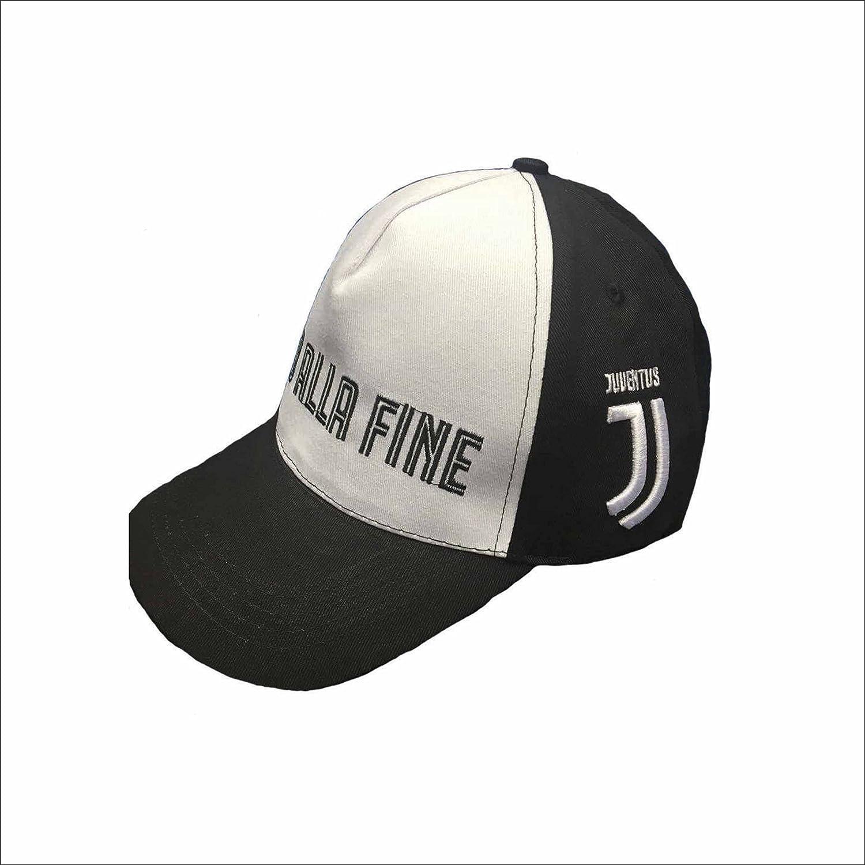 Berretto Cappellino Juventus Fino Alla Fine Ufficiale Nuovo Logo 2017    2018 Adulto Perseo Trade SPA e60fe8455655