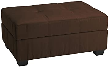 Exceptional Epic Furnishings Vanderbilt 36 By 24 By 18 Inch Storage Ottoman Bench,  Microfiber Suede