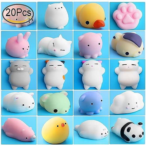 Mini Squishies Kawaii, Outee 15 Pcs Mochi Squeeze Toys