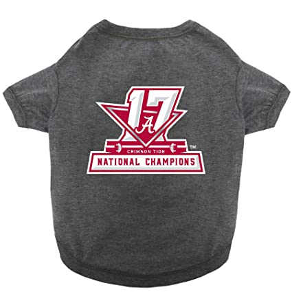 c18155dc7 NCAA 2018 National Championship ALABAMA CRIMSON TIDE Tee Shirt for DOGS &  CATS. Available in 5 Sizes. LIMITED EDITION Collegiate Pet Shirt.