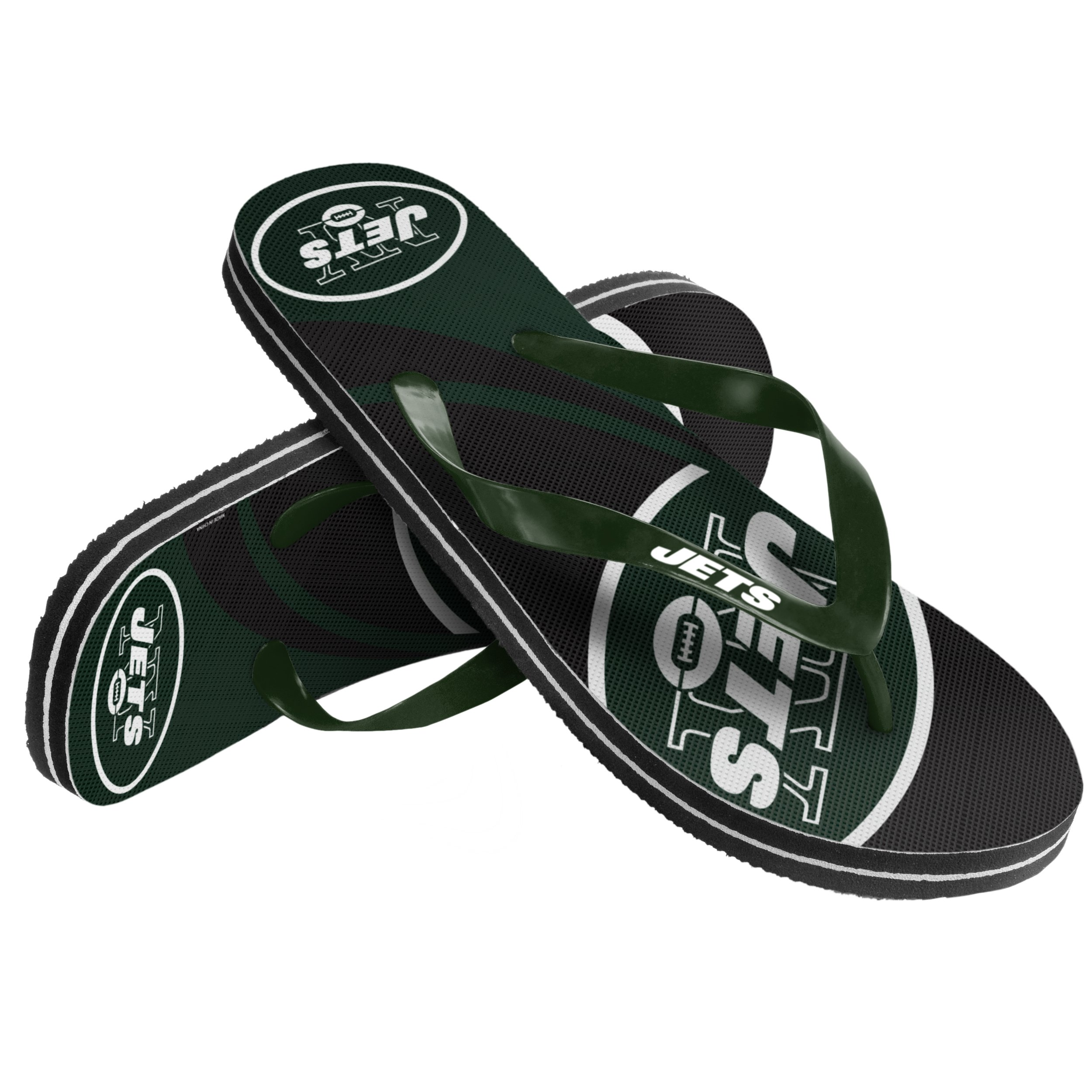 Forever Collectibles NFL New York Jets 2015 Big Logo, Small, Green by Forever Collectibles