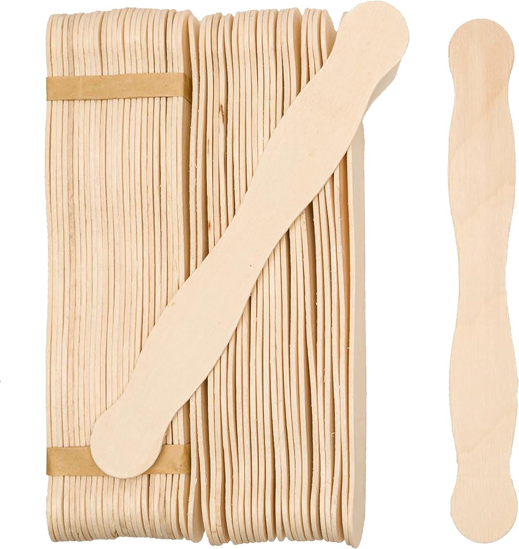 "Wood Paint Paddles Stirring Sticks Wooden Fan Handles 12/"" 50 ct PAINT 12"