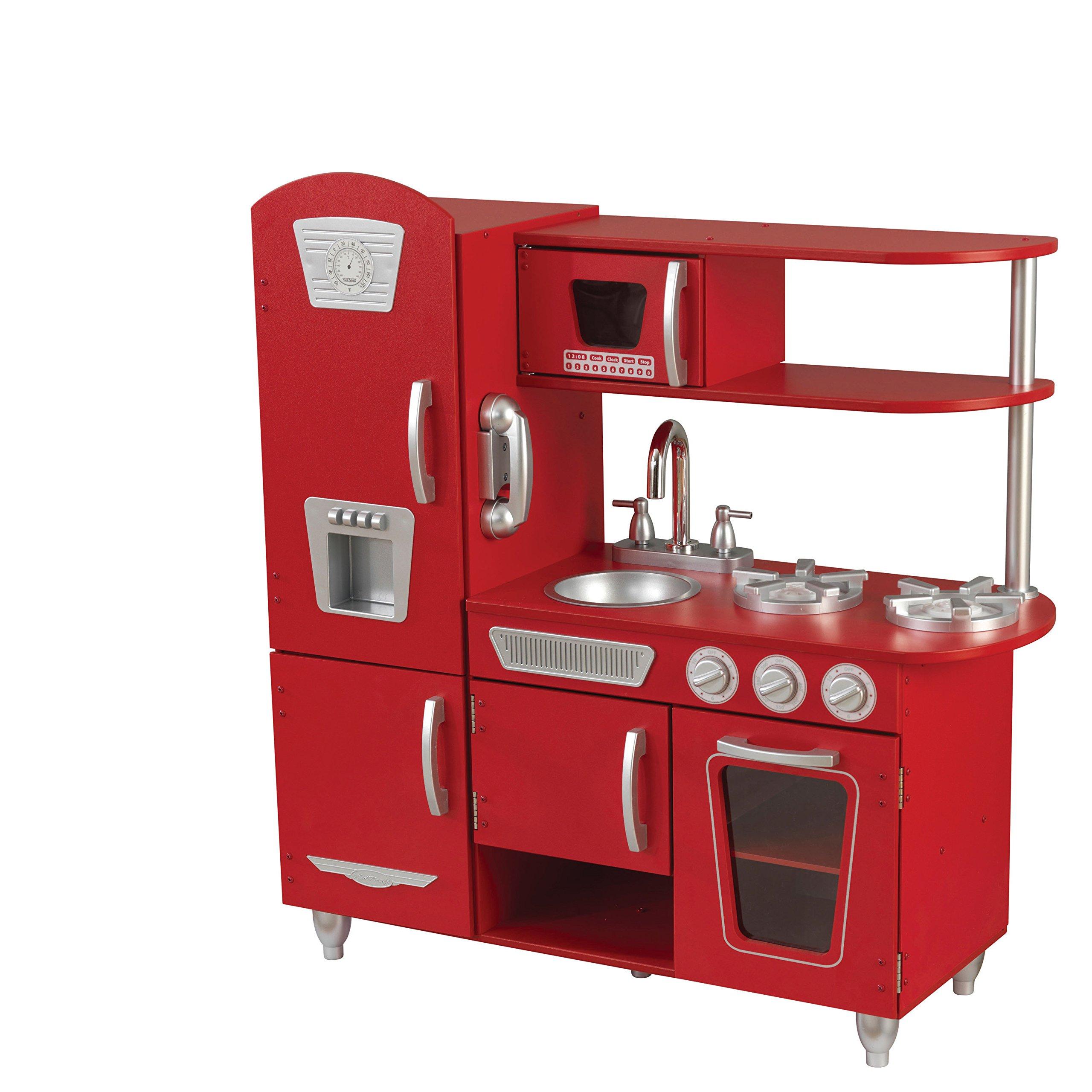 KidKraft Vintage Play Kitchen - Red by KidKraft (Image #4)