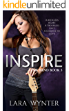 Inspire: A clean rock star romance (The Band Book 3)