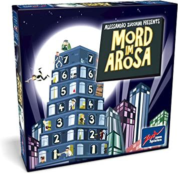 noris Zoch 601133200 - Juego de mesa Mord im Arosa (en alemán ...