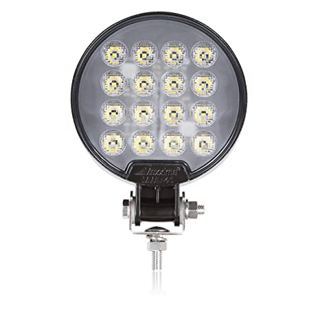 Maxxima Mwl 41 Black Round 16 Led Work Light 2 100 Lumens
