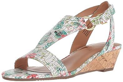 5952830b130d Amazon.com  Aerosoles Women s Creme Brulee Wedge Sandal  Shoes