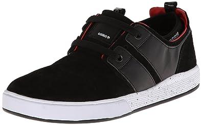 2595bdc06d806 Osiris Black/Red/White Size 14 Mens Duffel Kickback Skate Shoes ...