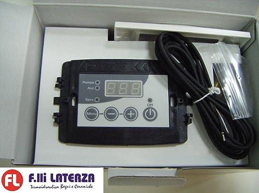 CENTRALITA DE Integrado para termo Chimenea Ferrari Idro 230 Control chimeneas - Calderas - termocamino: Amazon.es: Hogar
