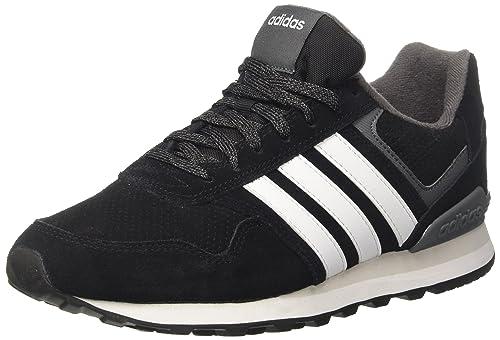 3fa65a78718a3 adidas 10K, Scarpe da Ginnastica Uomo, Nero (Core Black Ftwr White