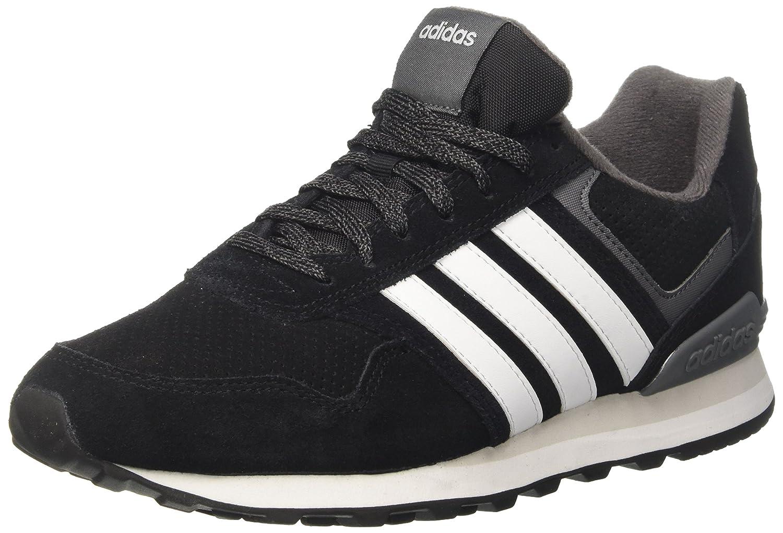 Adidas 10k, Chaussures de Fitness 44 Homme 44 Fitness 2/3 EU|Noir (Negbas/Ftwbla/Gricin 000) b97be0