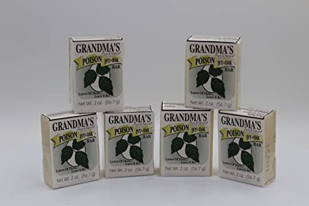 Grandma s Poison Ivy Bar 2oz. 6
