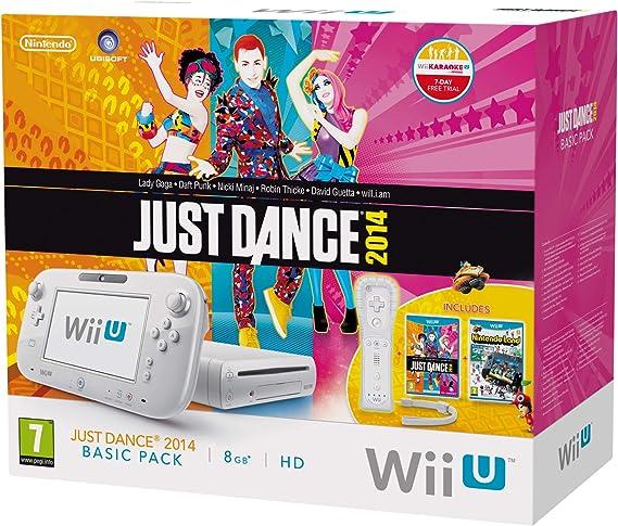 Nintendo Wii U - Consola Básica + Just Dance 2014 + Nintendo Land (Edición Limitada): Amazon.es: Videojuegos