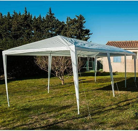 Werkapro - Tienda de campaña, color Blanche, tamaño 3 x 9 m, 111 x 32 x 28centimeters: Amazon.es: Jardín