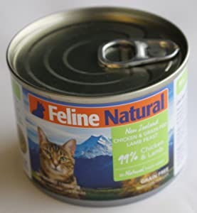 Feline Natural Chicken & Lamb Feast 6 oz Can Case of 24