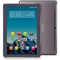 TOSCIDO 4G LTE Tablet 10 Pollici - Android 9.0 Certificato da Google GMS, 4GB + 64GB Rom,Octa Core 2GHz CPU Alta Velocità,Double Sim, WiFi, Double Haut-Parleur Stéréo - Gris