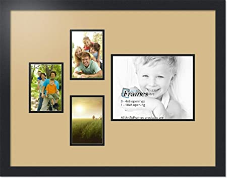 Picture Frame Mat Double white with hot pink liner   8x10 with 4x6 opening for  Photo or Art Custom Cut Rectangle