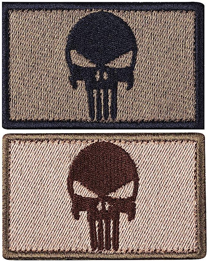 smagreho LMF parche de velcro Patch Militar con bordado y banda de ...