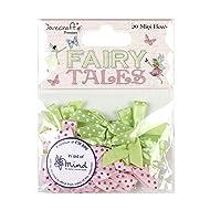 Dovecraft Premium Fairy Tales Mini Bows, Multicolour, 1